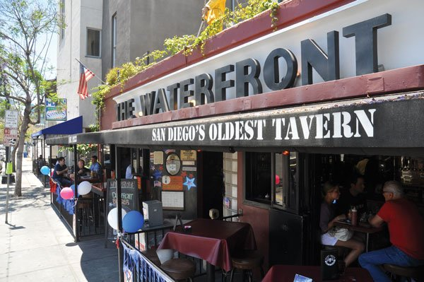 The Waterfront offers $2 brews for the location's current Foursquare mayor. - Image by Chris Woo