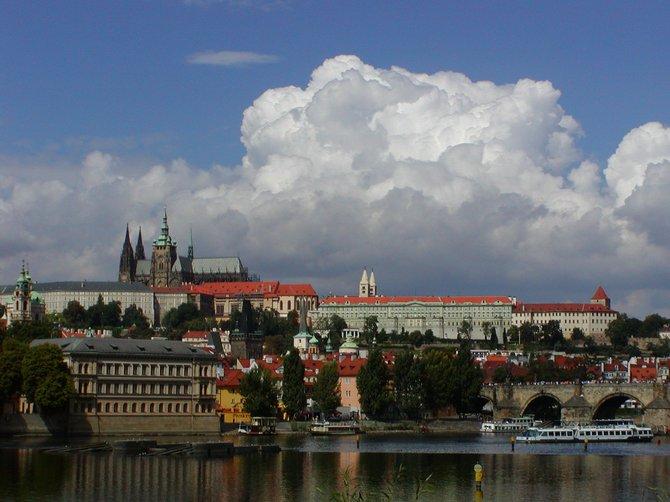 Old Prague view.