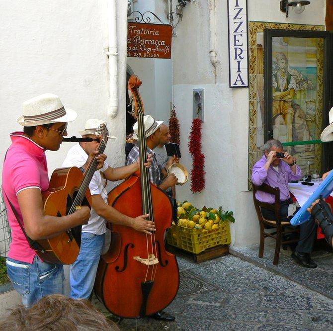 Street Musicians, Amalfi, Italy