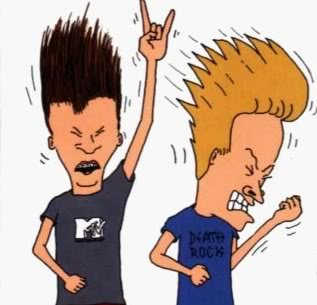 Animated metal heads Beavis and Butt-head are back!