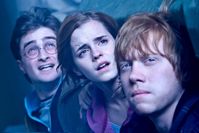 Many children have grown up with the star trio of Harry Potter, who are kids no longer.