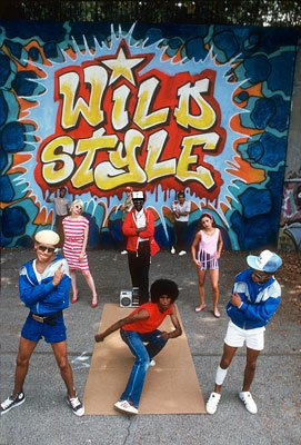 Wild Style mural by Zephyr, 1983 (photo by Martha Cooper)
