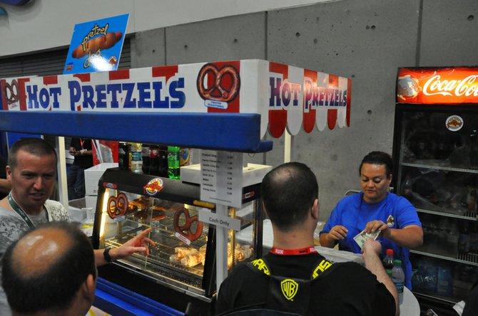 Pretzels & Comic-Con.