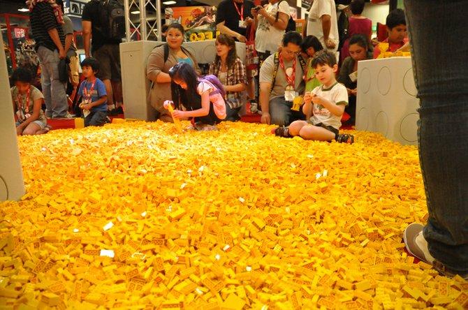Lotta Legos!