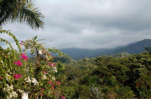 Sierra Madres range, prior to ascent