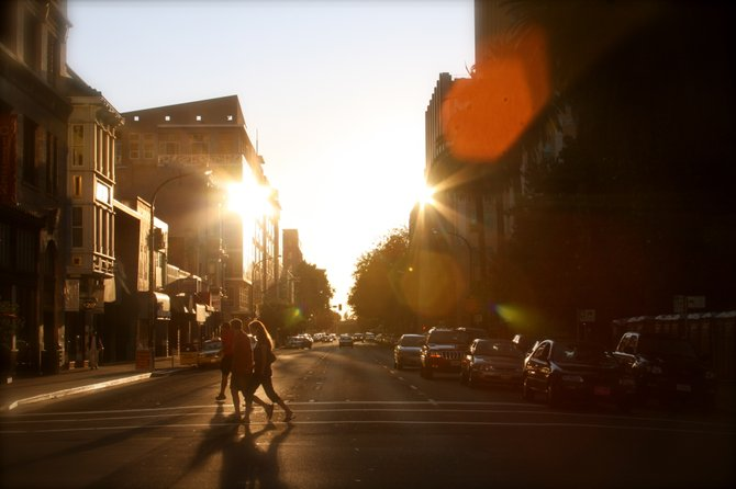 The beautiful streets of downtown Sacramento.