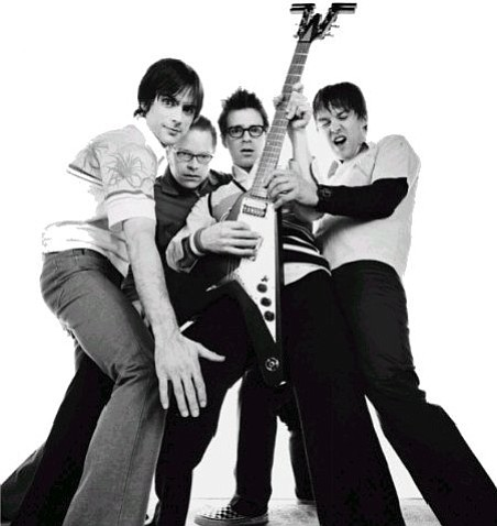 Weezer will be at the track Saturday