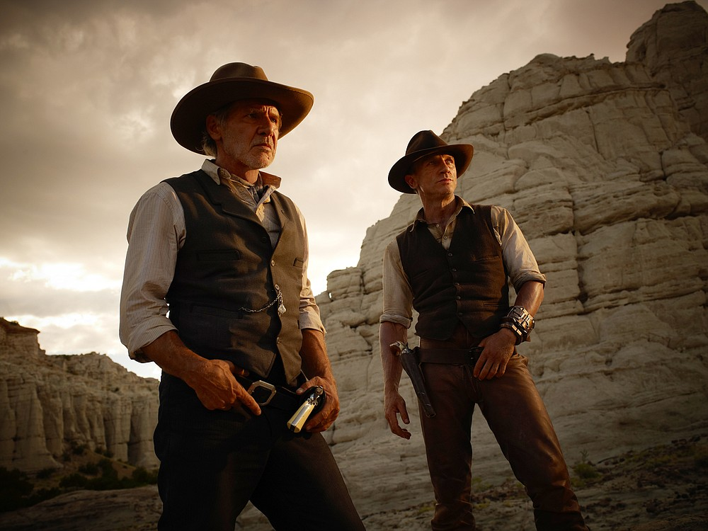 Cowboys and Aliens is less a Western than a double funeral, for both the Western and sci-fi genres.