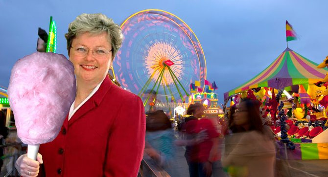 The Del Mar Fair Board has spent nearly $78,000 to defeat Christine Kehoe's Del Mar takeover bill.