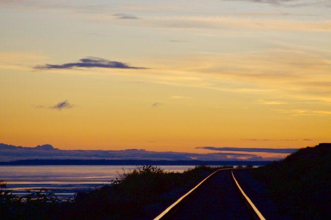 The Alaskan Railroad is another great way to see Alaska