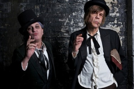 The New York Dolls'll dance backwards in high heels at the Cricket Wednesday
