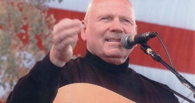 Singer/songer/storyteller Barry McGuire's still trippin' the '60s.