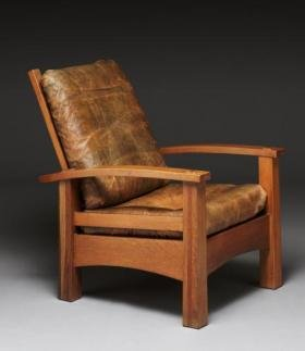 "Eastwood reclining chair: ""If I sit and let it devour me, surely I'll feel content."""