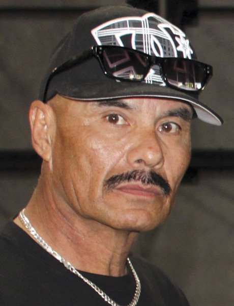 Boxing trainer Peter Moreno 