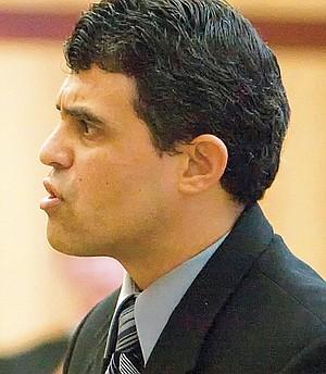 "Prosecutor Patrick Espinoza mocked the ""taco defense."""