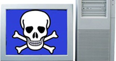 Computers say goodbye with a blue screen of death.