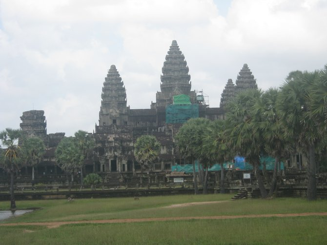 Angkor Wat - the main temple