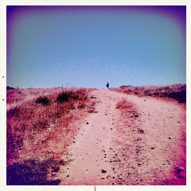 An image taken with my hipstamatic camera at Los Penaquitos Canyon.