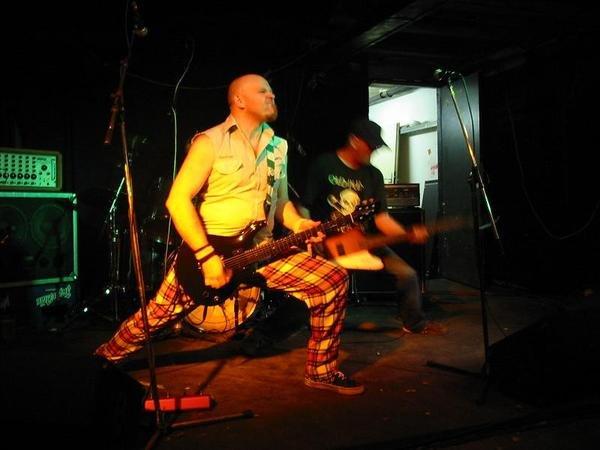 The Carpettes punk Soda Bar Sunday night.
