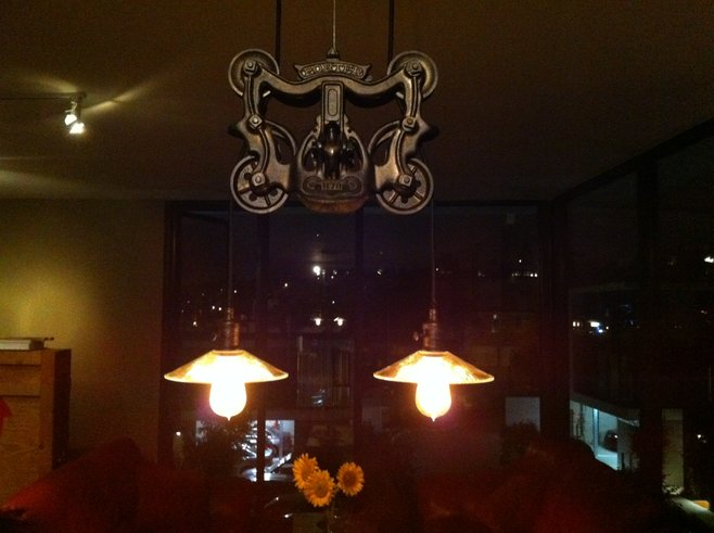 New pendant lamp for our new place.