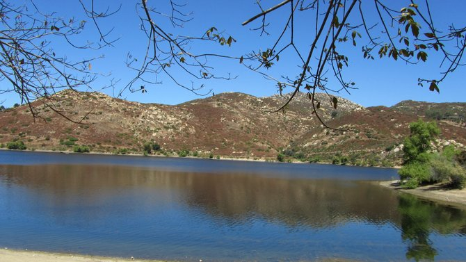 My first visit to Lake Poway - an intimate and relaxing place...