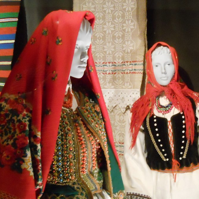 Museum of Ethnography in Poznan (festive dresses from Cracow and the environs of Wlodawa, both in the first half of the 20th century). The museum 'founded 1986' is situated in the former Masonic temple (dissolution in 1936) on the Mostowa Street near the Old Market. The exhibits are divided into the four sections: Folk Textiles and Dress Section, Folk Art Section, Technical Culture Section, and Non-European Cultures' Section. Nearby, there is Museum of Poznan Bamberg People.