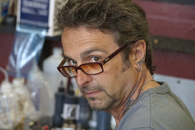 """Short-term tattoo schools, says artist Jack D'Amore, """"could ruin the industry."""""""