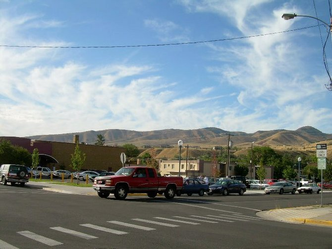 downtown Pocatello