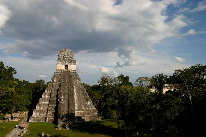 One of the many Mayan temples scattered around Tikal National Park.  An amazing place with ancient treasures and wildlife around every tree.