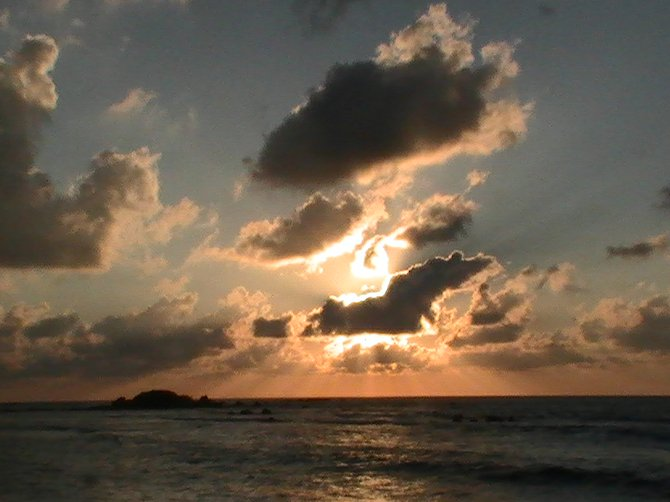 Sunset at Punta de Mita, Nayarit. It is a paradise to see