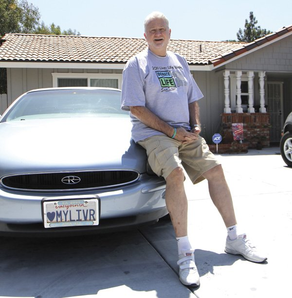 Michael McCrerey's license plate was a 