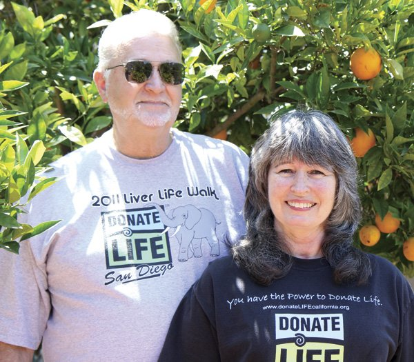 Rita McCrerey's tenacity helped secure a liver transplant  for her husband Michael and saved his life.