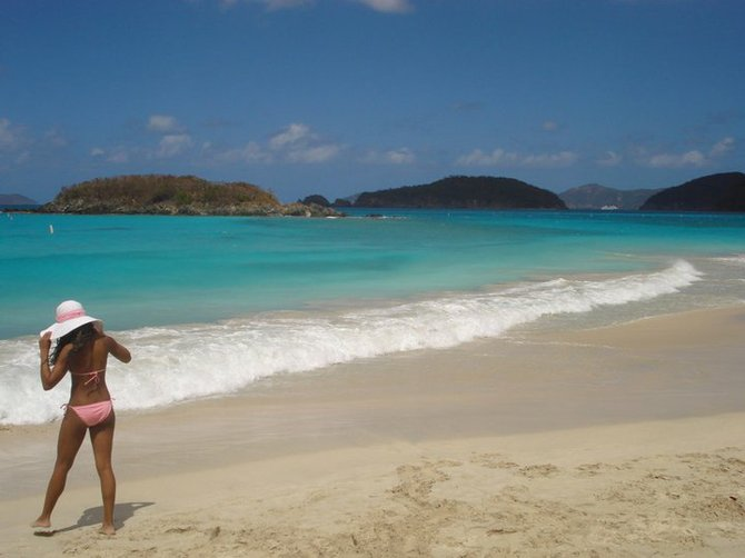 After running the 8 Tuff Miles on the island of St. John, it was time to relax.