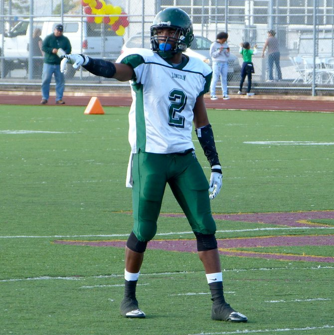 Lincoln receiver Tyree Robinson
