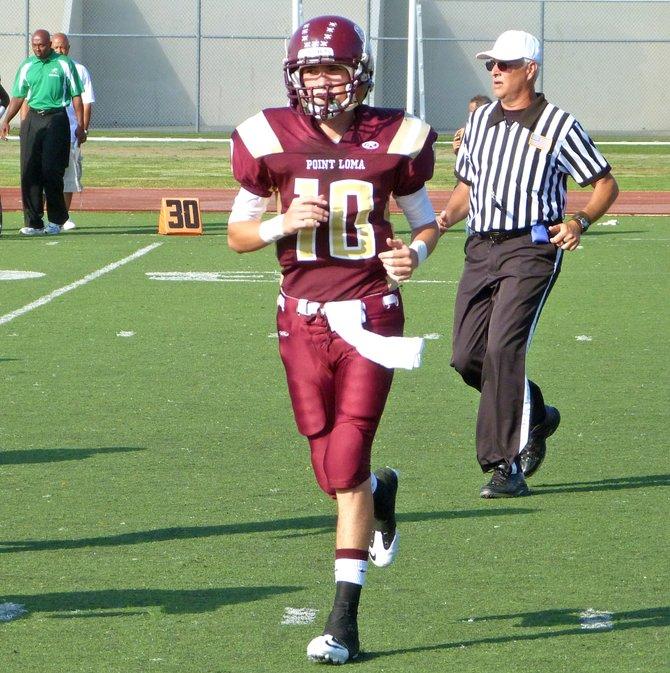 Point Loma quarterback Sam Augustine