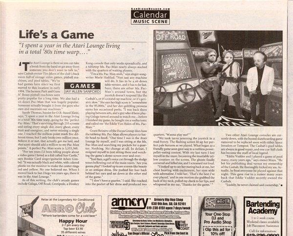 San Diego Reader, September 14, 2006