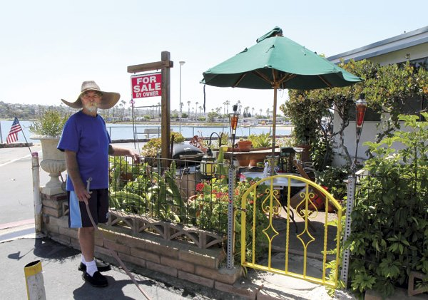 Bill Killman has owned his De Anza Cove mobile home since 2000. It has a sunroom, 2 bedrooms, 