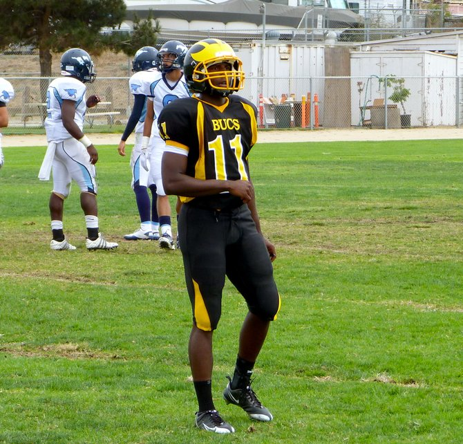 Mission Bay quarterback Nate Long