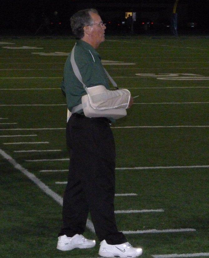 Oceanside head coach John Carroll