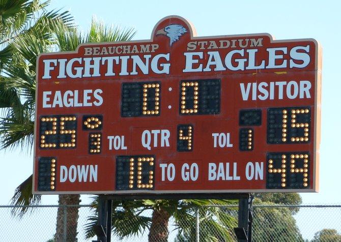 Final Score – Santa Fe Christian 25, Coronado 15