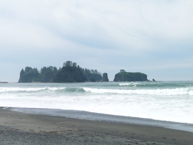 finding Pacific Northwest beauty in Rialto Beach