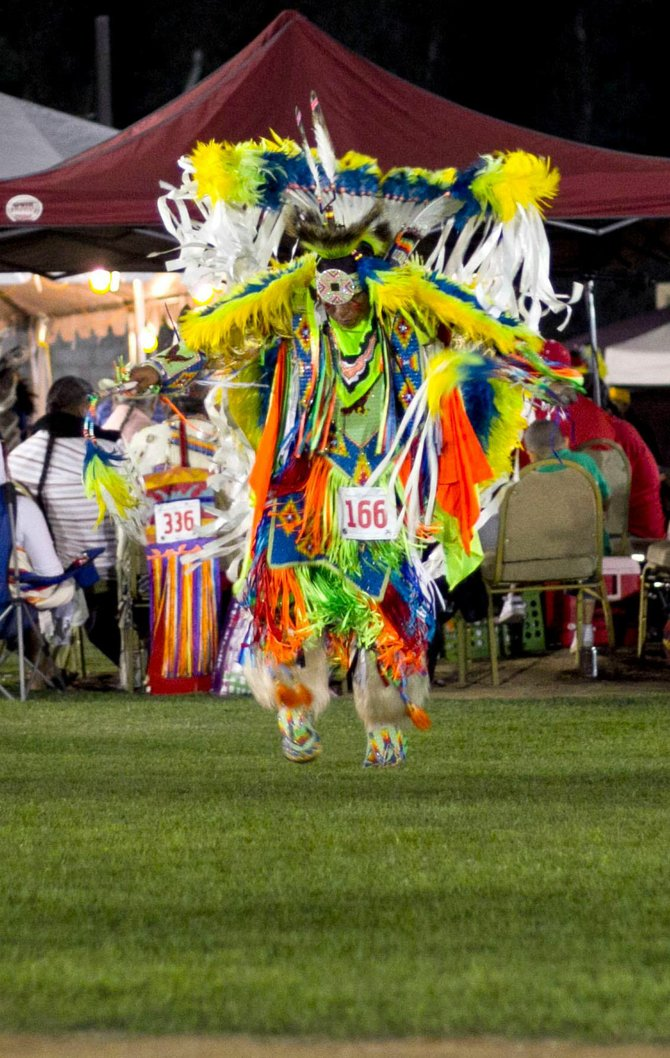 Fancy Dancer at Barona Pow Wow 2011