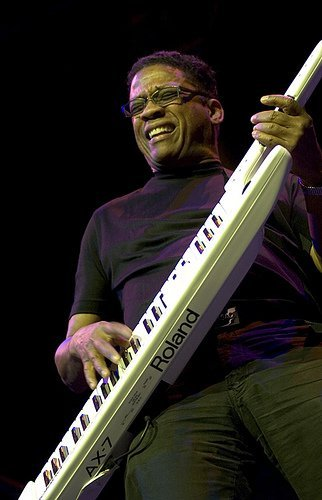 Herbie Hancock takes the stage at Balboa Theatre Friday night.
