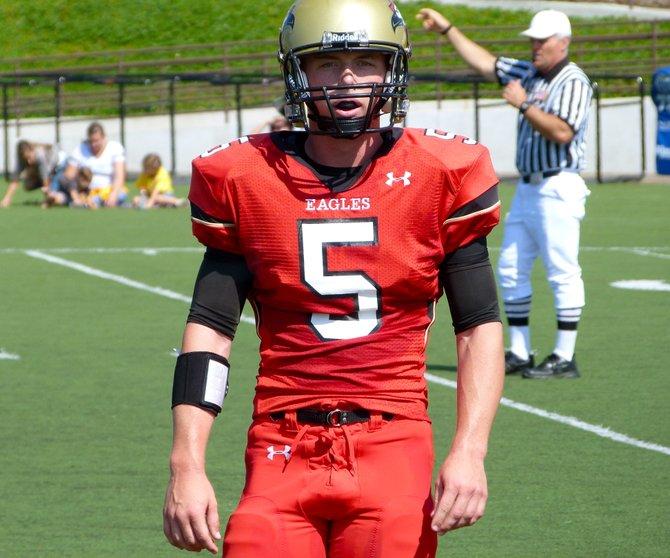Santa Fe Christian quarterback Connor Moore