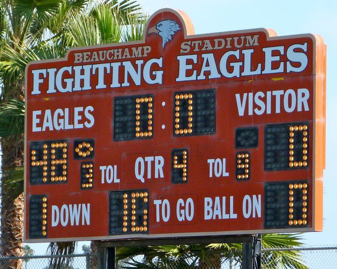 Final Score – Santa Fe Christian 48, Palo Verde Valley 0