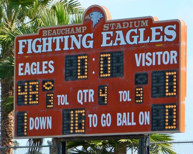 Final Score – Santa Fe Christian 48, Palo Verde Valley 0