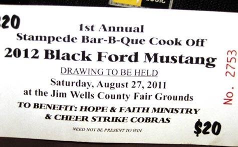 Raffle winner had to file a fraud complaint against contest organizers, Hope & Faith Ministries, to claim his prize.