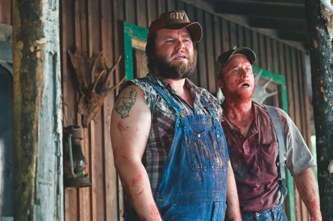Tucker and Dale vs. Evil, a charming, gory spoof of hillbilly horror films.