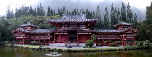 The Byodo-In Temple on Oahu