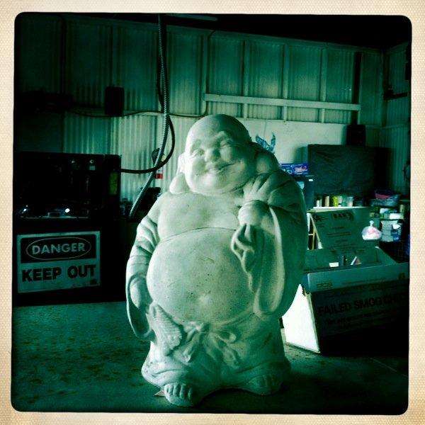 Buddha and the Caution
